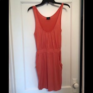 "Buckle ""Day Trip"" Tangerine Sundress"